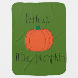 Perfect Pumpkin Baby Blanket