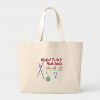 Perfect Purls Tote Bags