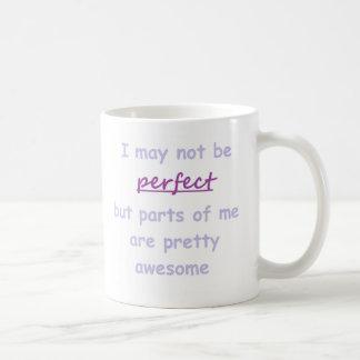 Perfect quote basic white mug