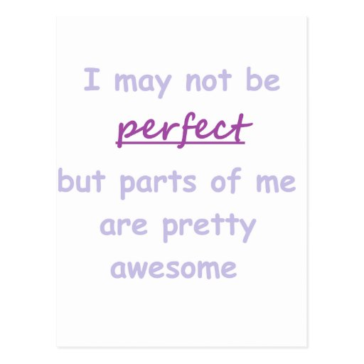 Perfect quote postcards