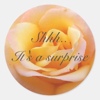 Perfect Rose - Shh It s a surprise Sticker
