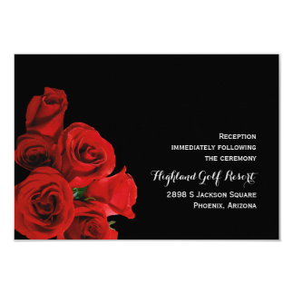 Perfect Roses Reception Card