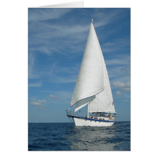 Perfect Sail  Greeting Card
