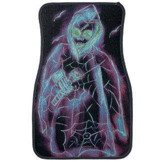 perfect scary skeleton floor mat