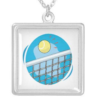 Perfect Shot Square Pendant Necklace