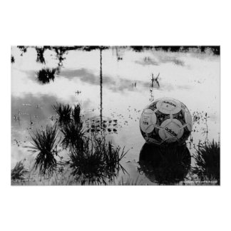 Perfect Soccer Day Poster