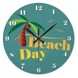 Perfect Summer Beach Day Wallclock