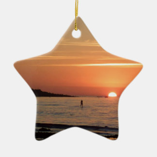 Perfect Sunset Christmas Ornament
