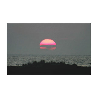 Perfect Sunset Stretched Canvas Print