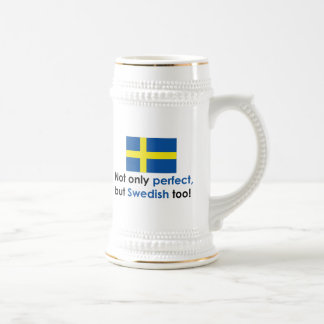 Perfect Swede Beer Stein