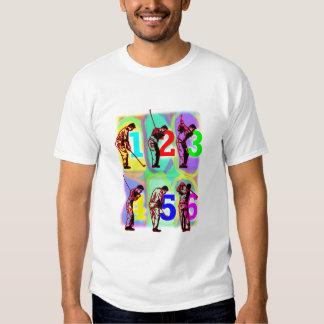 perfect swing , wild colors ! tee shirt