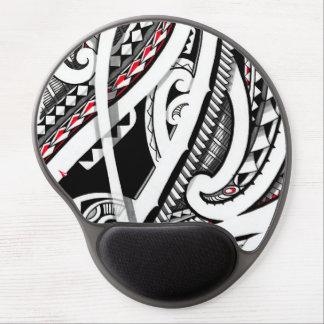Perfect tribal polynesian/maori tattoo art gel mouse mats