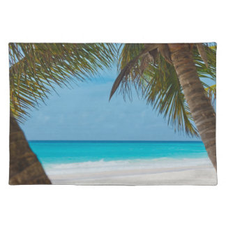 Perfect Tropical Paradise Beach Placemat