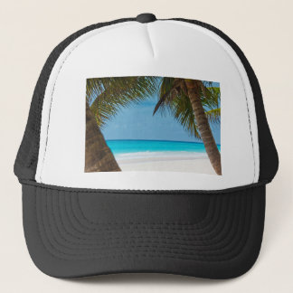 Perfect Tropical Paradise Beach Trucker Hat