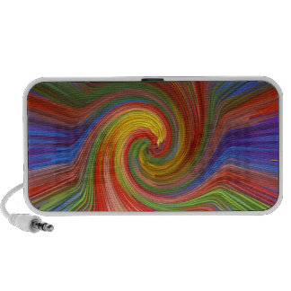 Perfect TWIRL Rainbow Graphic Love GIFTS unique 07 Notebook Speaker