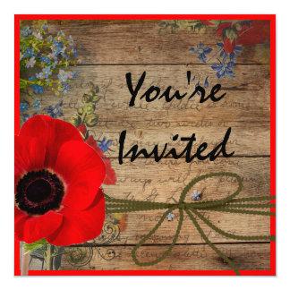PERFECT Vintage Multi Purpose Invitation