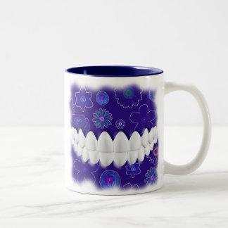 Perfect White Teeth Bite Dentist Orthodontist Mug