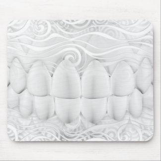Perfect White Teeth Smile Dentist Mousepad