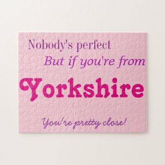 Perfect Yorkshire Jigsaw Puzzle