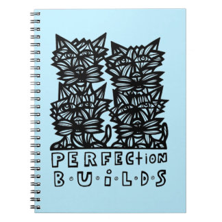 Perfection Builds BuddaKats 80 Page Notebook