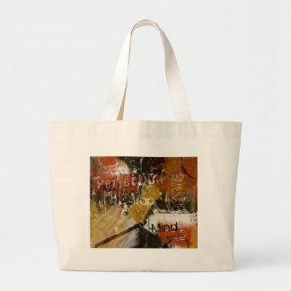 Perfection is a Trap for the Creative Mind Jumbo Tote Bag