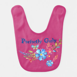 Perfectly Girly Collection Bib