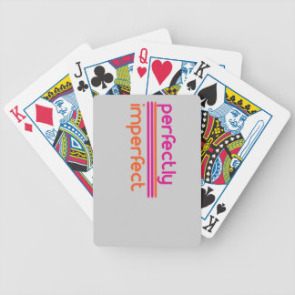 Perfectly Imperfect Bicycle Playing Cards