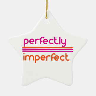 Perfectly Imperfect Christmas Ornament