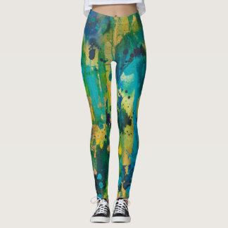 Perfectly Imperfect Leggings MaryLea Harris Art
