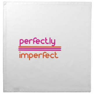 Perfectly Imperfect Printed Napkins