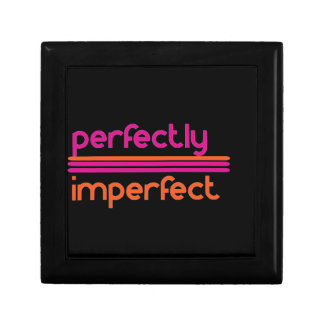 Perfectly Imperfect Small Square Gift Box
