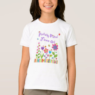 Perfectly Picked Flower Girl Tee Shirt