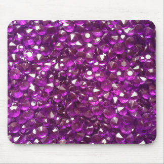 Perfectly Pink Crystals Mouse Mat
