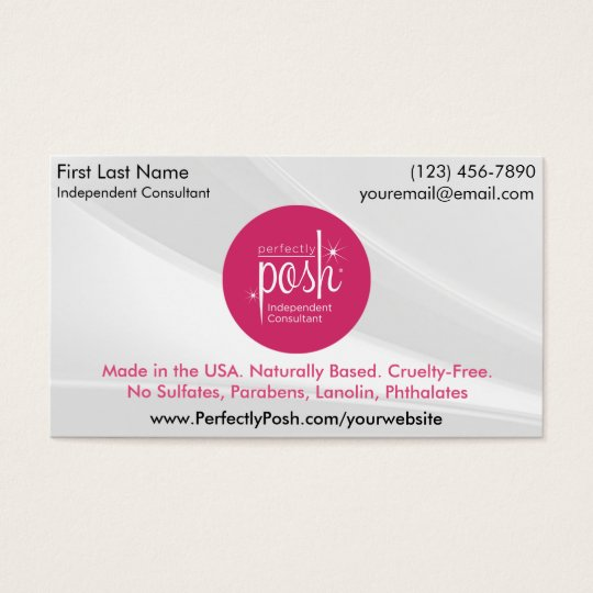 Perfectly posh business cards zazzle perfectly posh business cards reheart Images