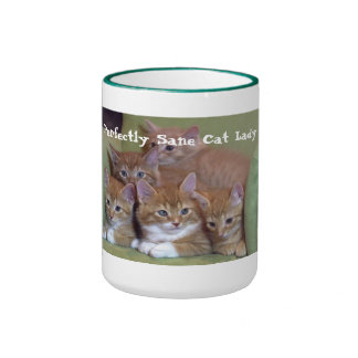 Perfectly Sane Cat Lady Mug