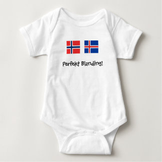 Perfekt Blanding ( Perfect Mix) Baby Bodysuit