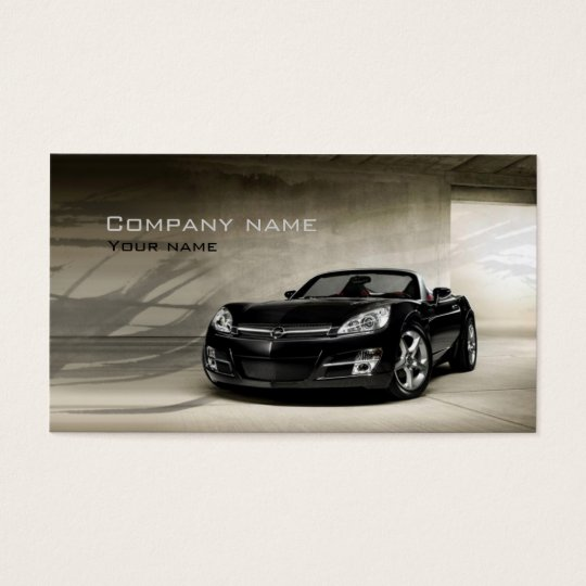 Performance Auto Sales And Service Business Card