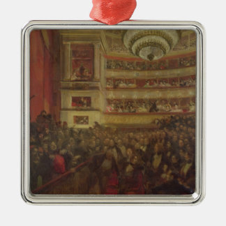 Performance of 'Hernani' by Victor Hugo Christmas Ornament