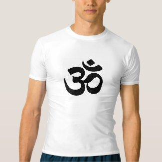 Performance T-shirt With Om Symbol