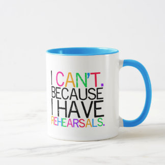 Performing Arts Humor Mug (customizable)
