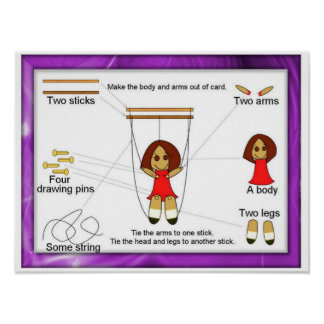 Performing Arts, String puppets Poster