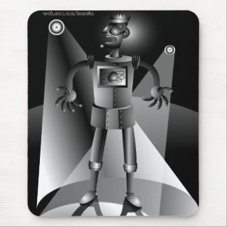 Performing Robot Mouse Pad