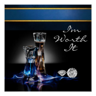 Perfume Bottles and Diamonds I'm Worth It