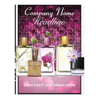 Perfume & Fragrance Marketing Flyer Template