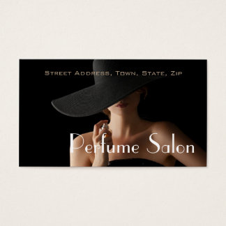Perfume Salon Fragrance Scent Aroma Business Card