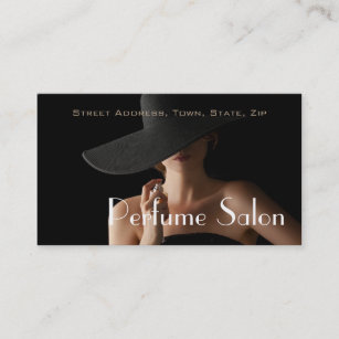 Scented business cards business card printing zazzle uk perfume salon fragrance scent aroma model business card colourmoves