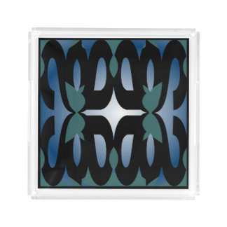 Perfume Tray for Her-White/Black/Blue/Teal