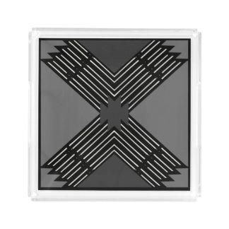 Perfume Tray for Women-White/Black/Gray