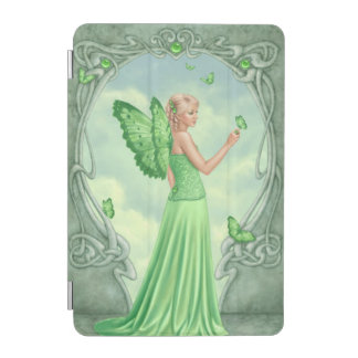 Peridot Birthstone Fairy iPad Mini Cover