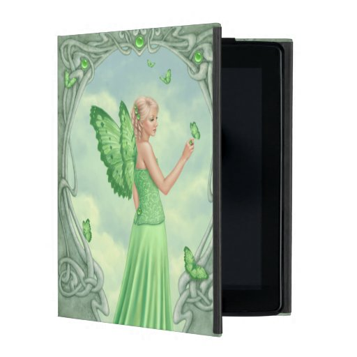 Peridot Birthstone Fairy Powis iCase iPad 2/3/Case iPad Case